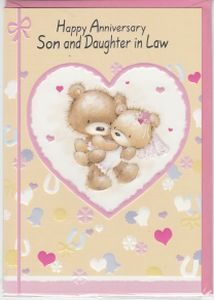 Anniversaries son and daughter in law english greeting cards in anniversaries son and daughter in law english greeting cards in france m4hsunfo