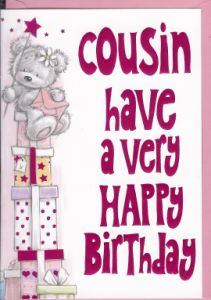 Wedding Gift Ideas For Male Cousin : Cousin have a very Happy Birthday! :) birthday Pinterest