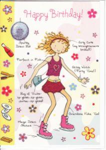 Open birthday cards girls english cards in france happy birthday bookmarktalkfo Gallery