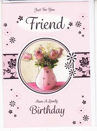 Open Birthday - Special Friend - English Greeting Cards in France