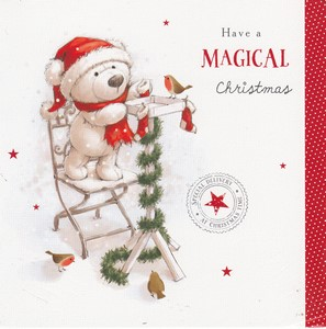 Christmas Charity Open Cards - English Greeting Cards in France