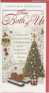 Christmas from both of us english greeting cards in france christmas from both of us m4hsunfo