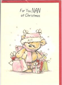 Christmas Grandparents, English Greeting Cards in France